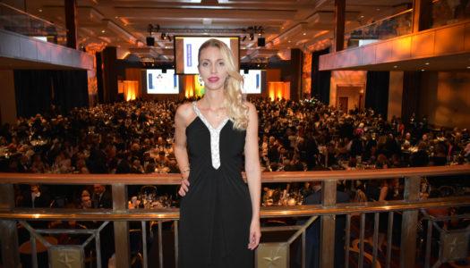 Fashion Icon Simonetta Lein, Celebrity Host at the IVY Winter Gala